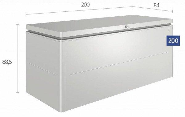 Grote Biohort loungebox 200 x 84 H: 88,5 cm