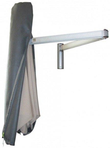 Hoes voor een muurparasol H: 150 cm
