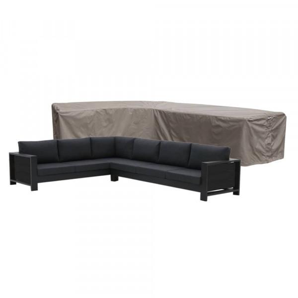 Loungebankhoes 355 x 275 x 100 H: 70 cm