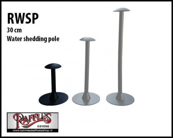 Water shedding pole 30 cm