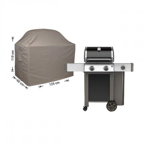 Barbecue beschermhoes 125 x 60 H: 110/100 cm