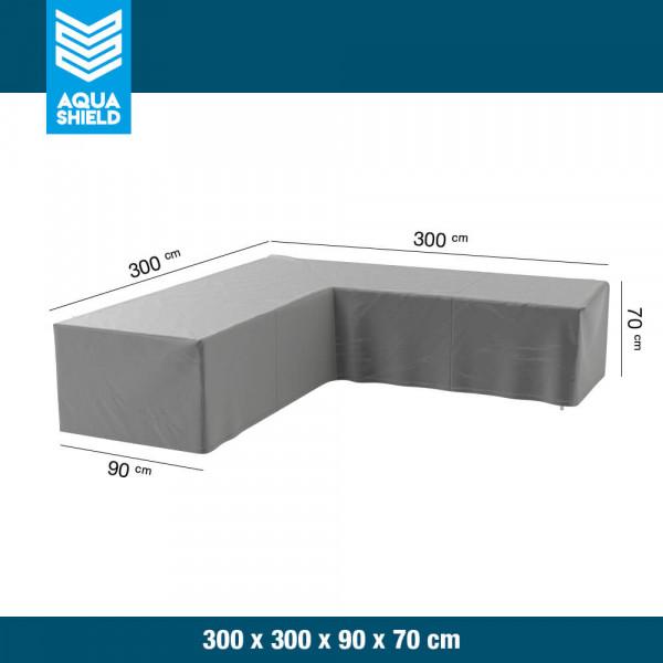 Hoes lounge hoekbank 300 x 300 x 90 H: 70 cm
