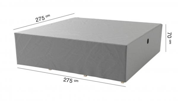 Loungeset afdekhoes 275 x 275 H: 70 cm