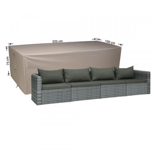 Loungebank tuinmeubelhoes 320 x 100 H: 75 cm