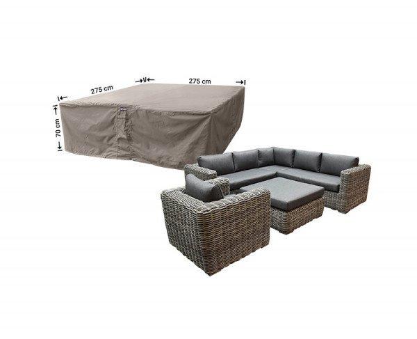Loungeset hoes 275 x 275 H: 70 cm