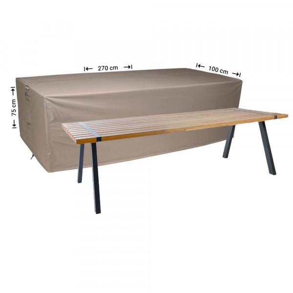Tuintafel afdekhoes 270 x 100 H: 75 cm
