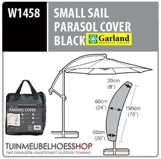 Hoes voor zweefparasol H: 190 cm