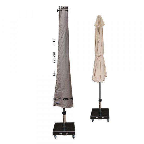 Parasol beschermhoes H: 225 cm