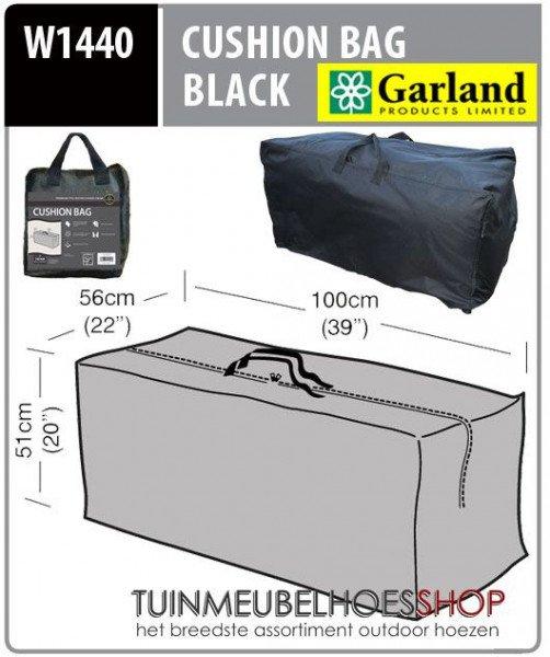 Tas voor tuinkussen 100 x 56 H: 51 cm