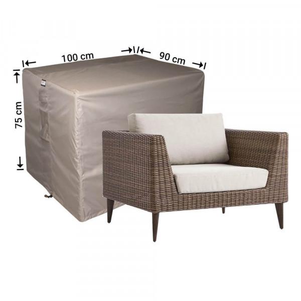 Loungestoel afdekhoes 100 x 90 H: 75 cm