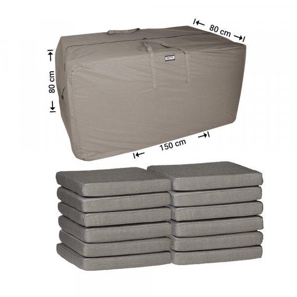 Tas voor tuinkussens 150 x 80 H: 80 cm