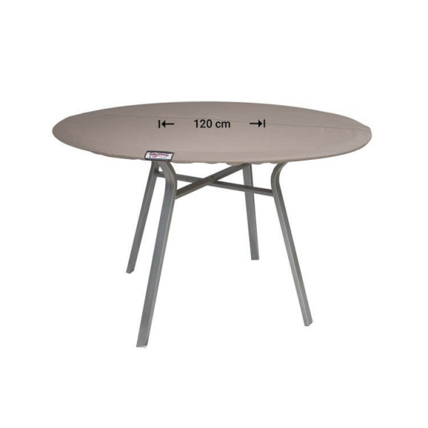 Hoes voor rond tafelblad Ø: 120 cm