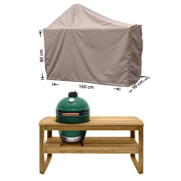 Big Green Egg barbecuehoes 160 x 90 H: 80/145 cm