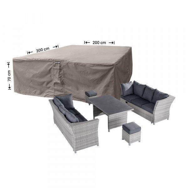 Loungeset beschermhoes 300 x 200 H: 70 cm
