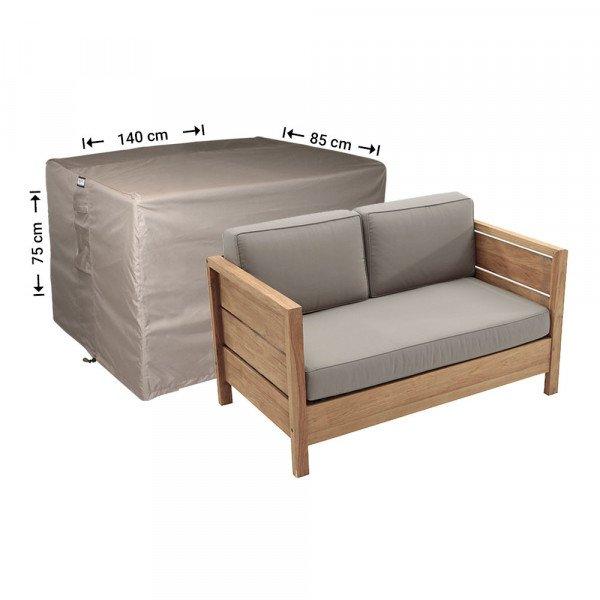 Tuinmeubelhoes loungebank 140 x 85 H: 75 cm