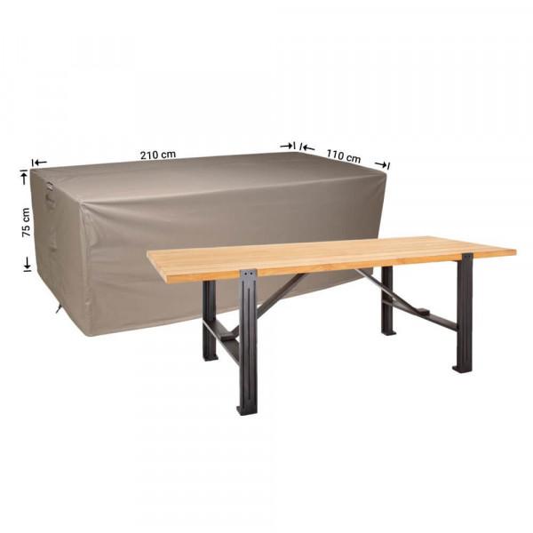 Beschermhoes voor tuintafel 210 x 110 H: 75 cm