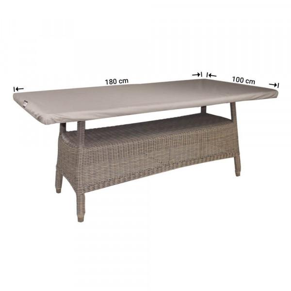 Beschermhoes rechthoekig tafelblad 180 x 100 cm