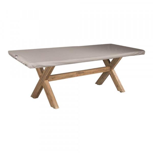 Hoes voor tafelblad tuintafel 200 x 100 cm