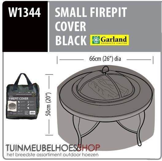 Hoes voor kleine vuurtafel Ø: 66 cm & H: 50 cm