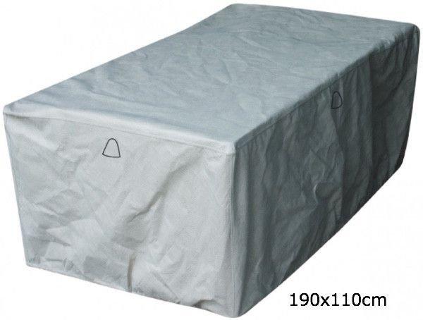 Buitentafel hoes 190 x 110 H: 75 cm