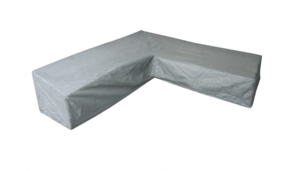Hoge lounge dining set hoes voor hoekopstelling, past het best over een set van 245 x 245 cm.