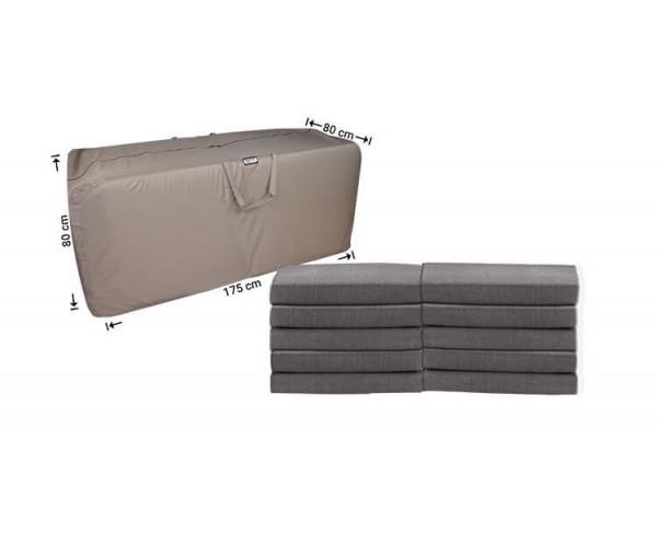 Tas voor lounge kussens 175 x 80 H: 80 cm
