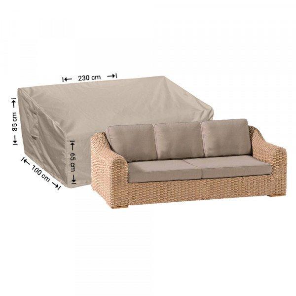 Loungebank beschermhoes 230 x 100 H: 85/65 cm