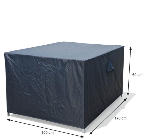 Hoes voor tafel of loungebank 170 x 100 H: 60 cm
