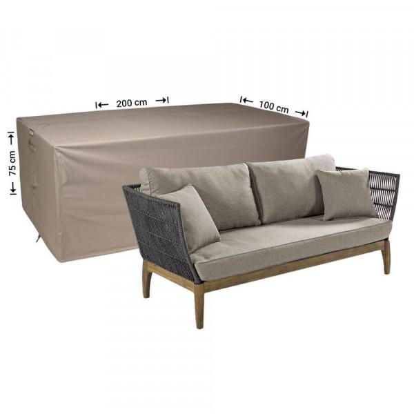 Hoes loungebank 200 x 100 H: 75 cm