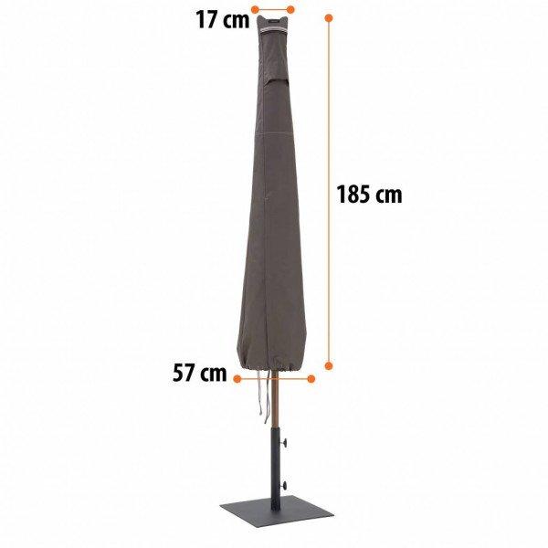 Standaard parasol hoes H: 185 cm