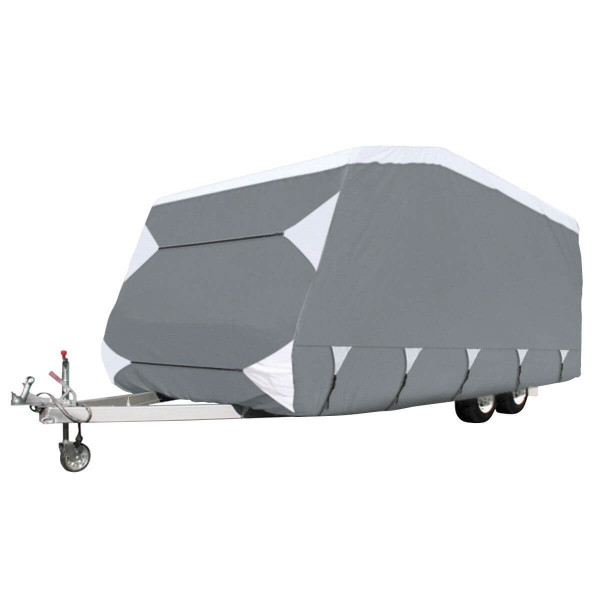 Hoes caravan van 490-550 x 260 cm H: 180 cm