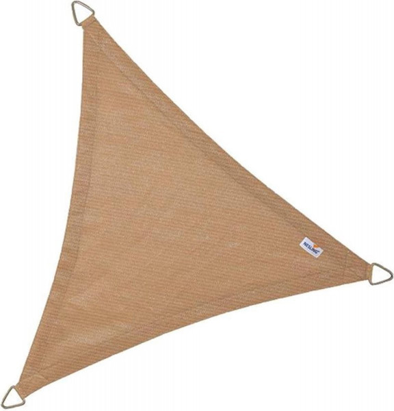 Coolfit schaduwdoek driehoek 3,6m - zand