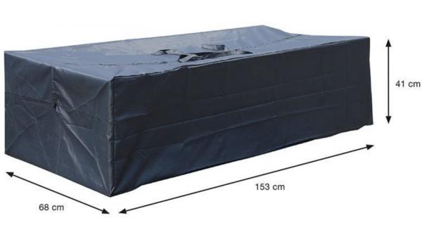 Tuinkussen opberghoes 153 x 68 H: 41 cm