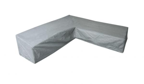 Hoes L-vorm, hoge rug 325 x 325 x 100 H: 105/70 cm