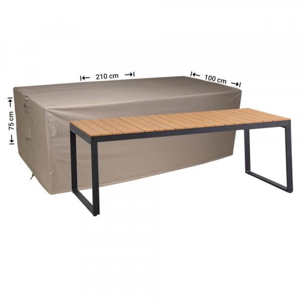 Beschermhoes voor tuintafel 210 x 100 H: 75 cm