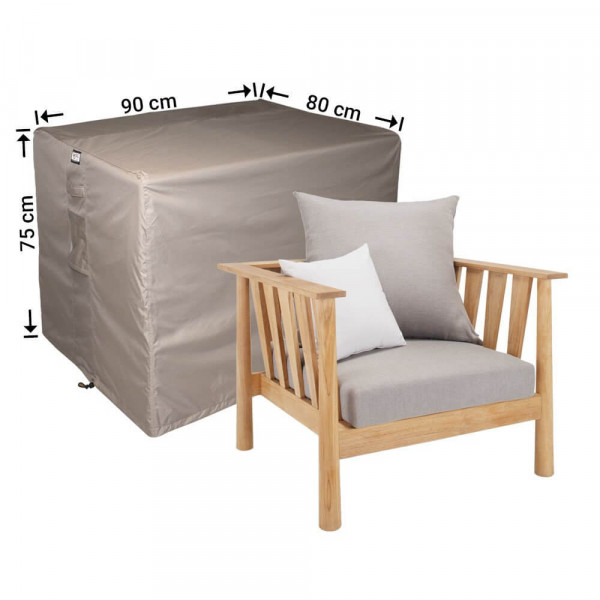 Loungestoel afdekhoes 90 x 80 H: 75 cm