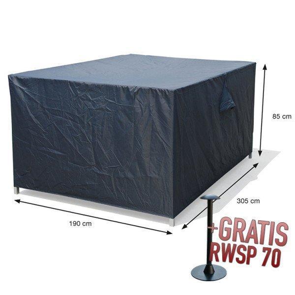 Afdekhoes tuinset 305 x 190 H: 85 cm