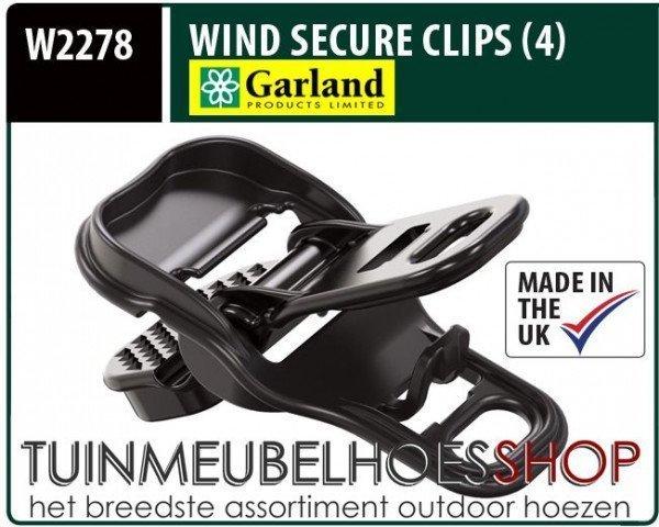 Wind Secure Clips, Wind Klemmen