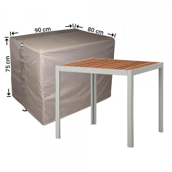 Hoes voor tuintafel 90 x 80 H: 75 cm