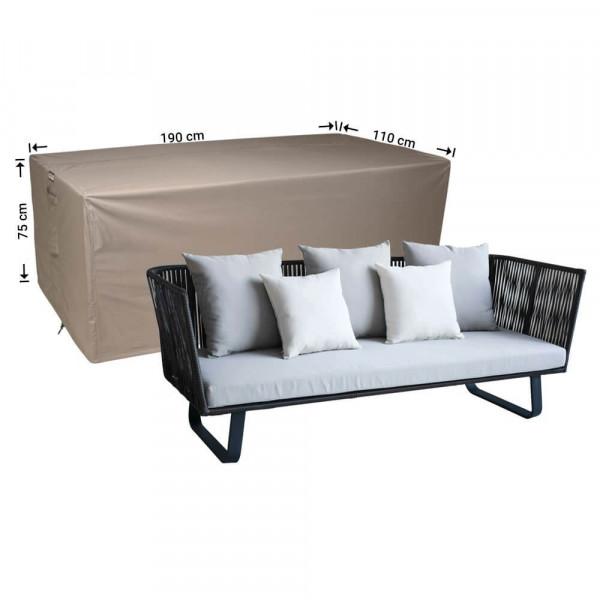 Hoes voor loungebank 190 x 110 H: 75 cm