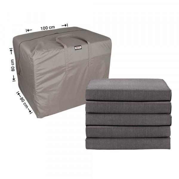 Tas loungekussens opbergen 100 x 80 H: 80 cm