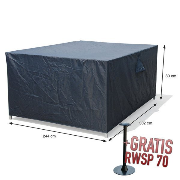 Beschermhoes loungeset 302 x 244 H: 80 cm