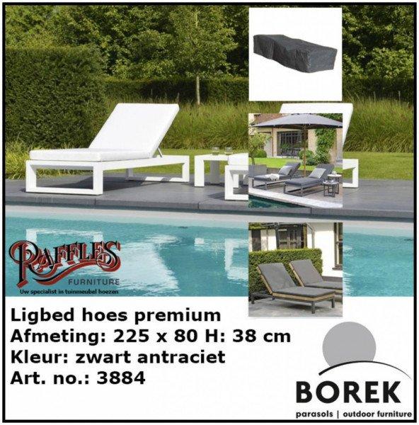 Hoes voor ligbed 225 x 80 H: 40 cm