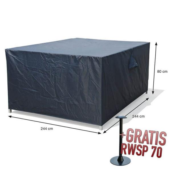 Loungeset beschermhoes 244 x 244 H: 80 cm