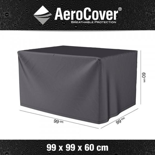 Hoes vuurtafel Cosi Fires Cube 99 x 99 H: 60 cm