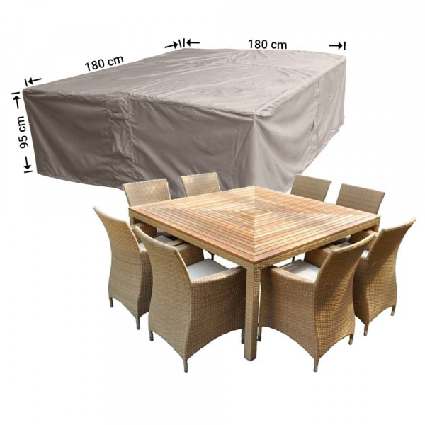Hoes voor tuinset 180 x 180 H: 95 cm