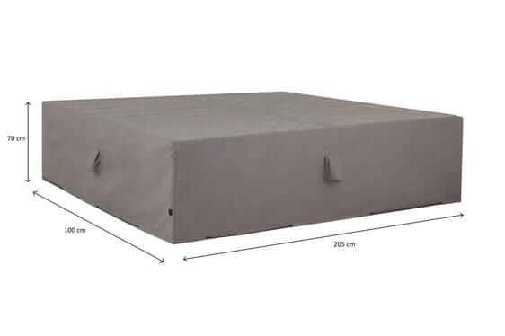 Hoes voor loungebank 205 x 100 H: 70 cm