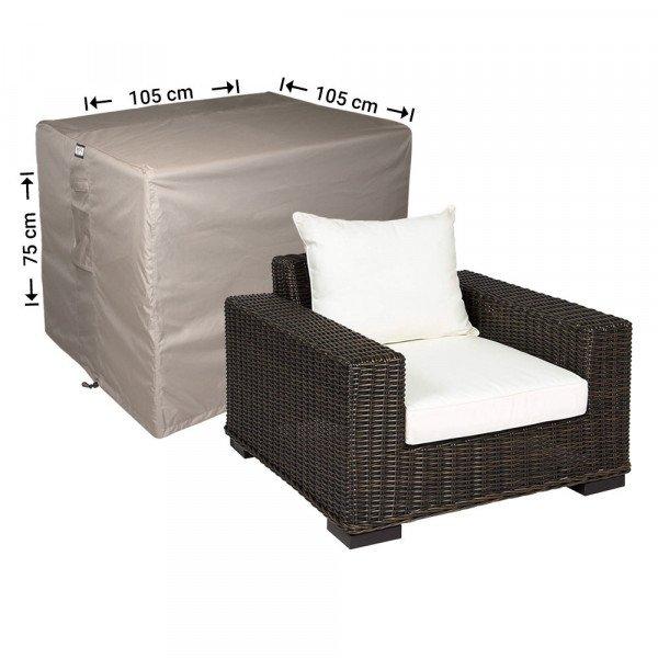 Loungestoel afdekhoes 105 x 105 H: 75 cm