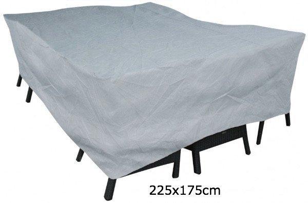 Hoes voor tafel met stoelen 225 x 175 H: 100 cm