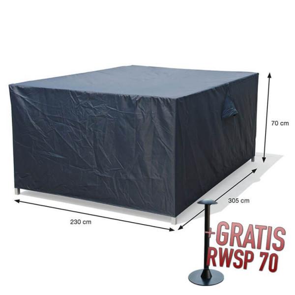 Beschermhoes loungeset 305 x 230 H: 70 cm